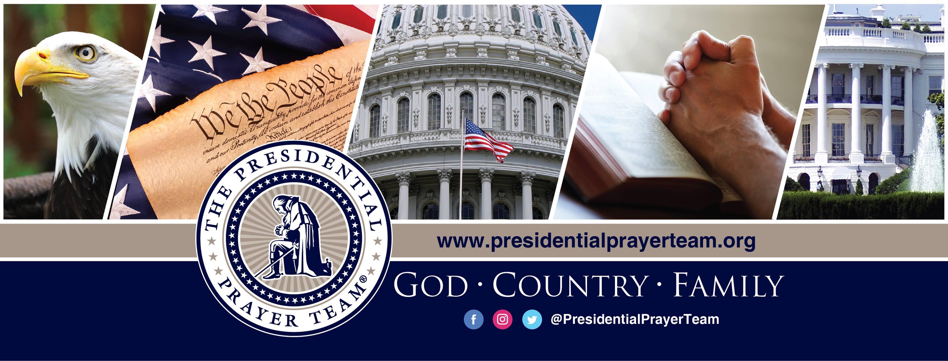 Presidential Prayer Team FB Cover art