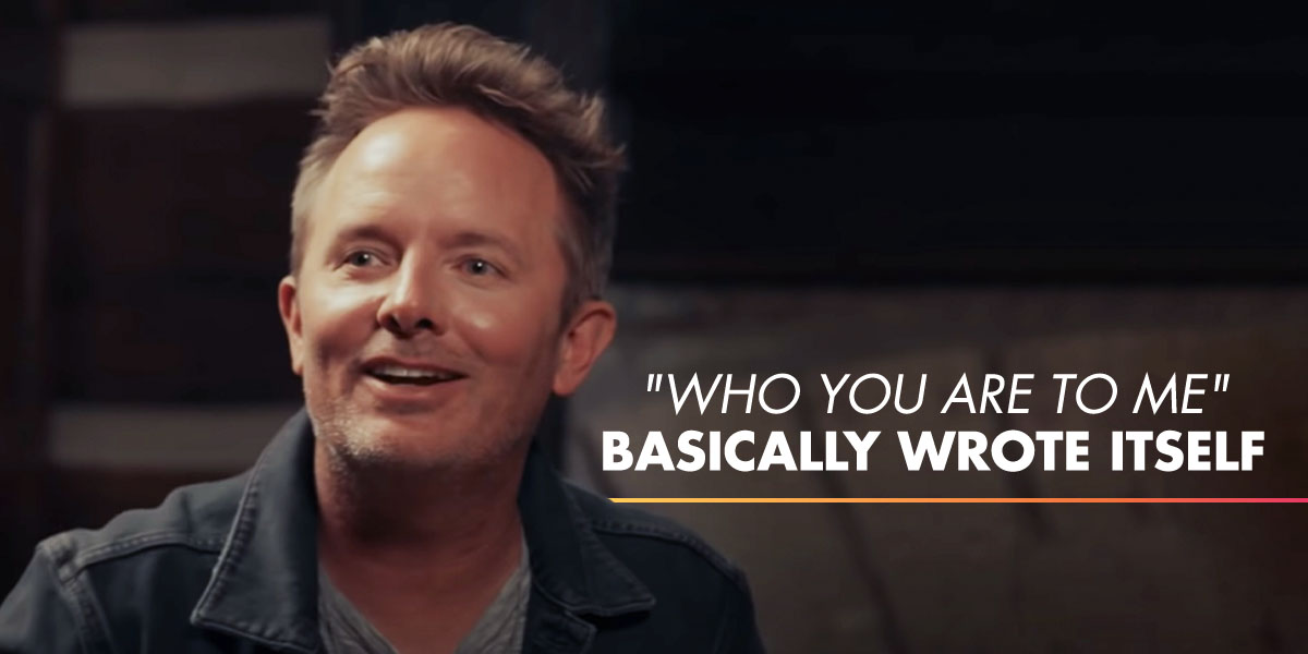 "Chris Tomlin ""Who You Are To Me"""