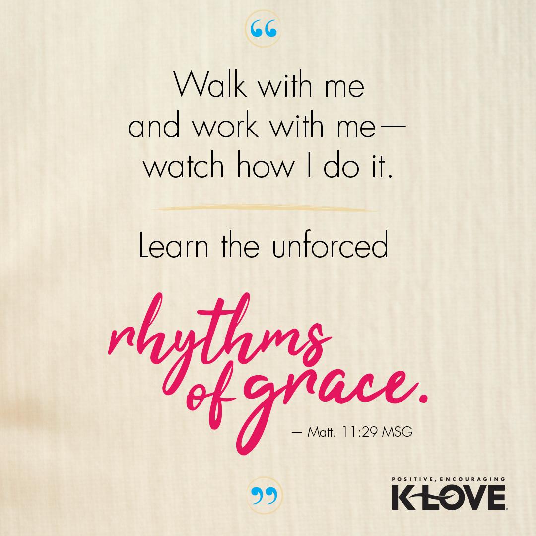 Matthew 11:29 MSG
