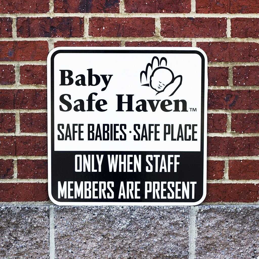 Safe Haven signage