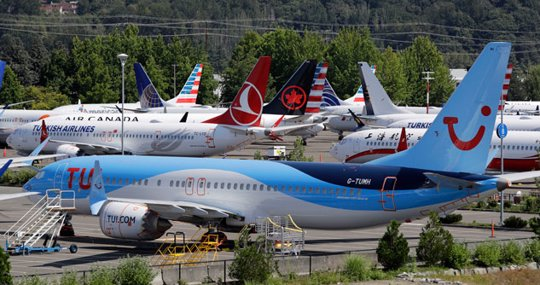 Boeing 737 MAX airplanes